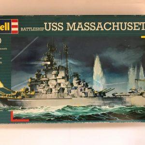 Revell 05031, USS Massachusetts, 1/720