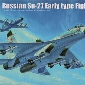 SU-27 early type 1/72