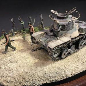 Prijs winnend diorama