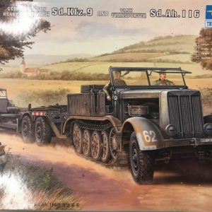 Trumpeteer, 07275, Famo and trailer 1/72