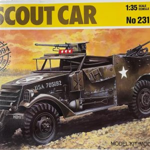 Italeri 231, White scout car, 1/35, € 12,-
