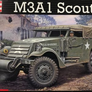 Revell 03078, M3A1 scout car, 1/35, € 17,-
