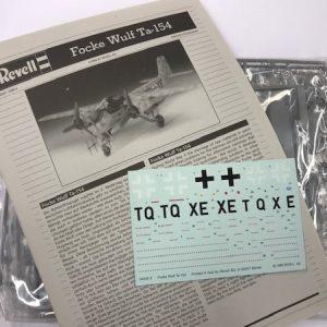 Revell 04535, TA-154, 1/48, € 20,-